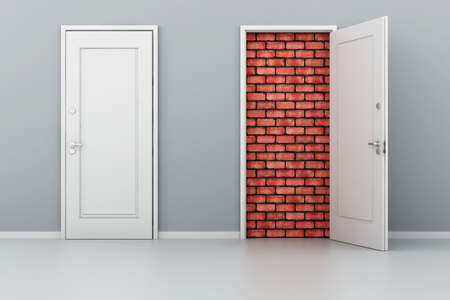 3d door no way out photo
