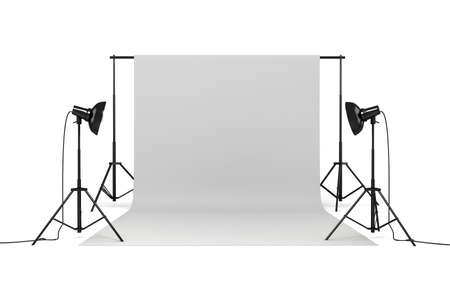 3d studio set Stock Photo - 14233945