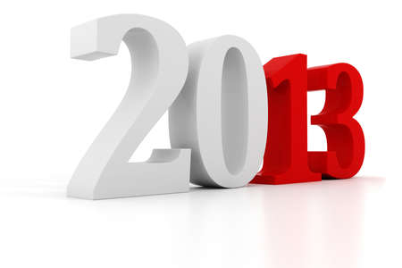 3d Happy New Year 2013 ! Stock Photo - 15070777
