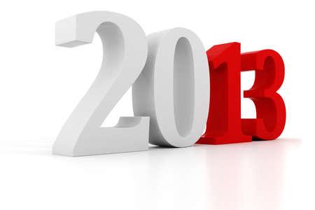 3d Happy New Year 2013 ! Stock Photo - 15070777