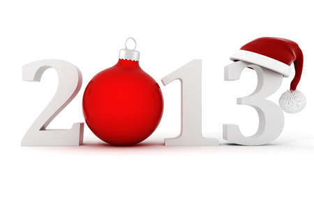 3d Happy New Year 2013 ! photo