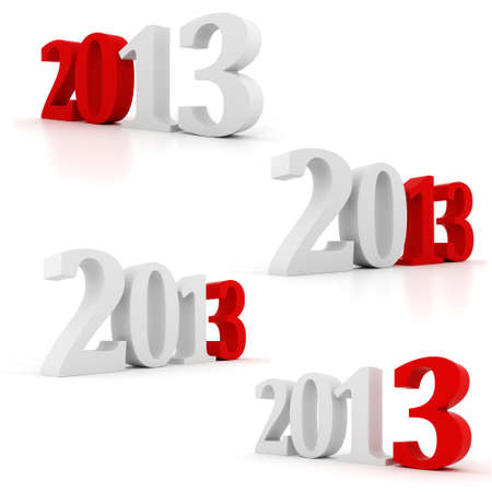 3d Happy New Year 2013 ! photo