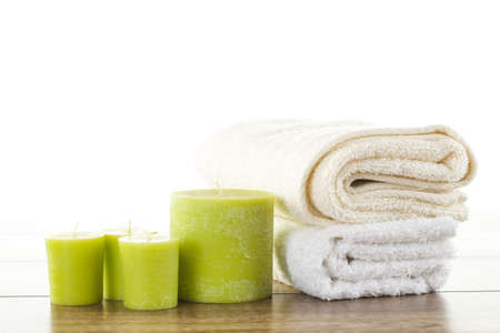 towels luxury: Spa    wellness setup