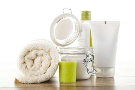 kosmetik: Spa Wellness-Setup