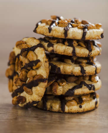 chocolate chips cookies photo