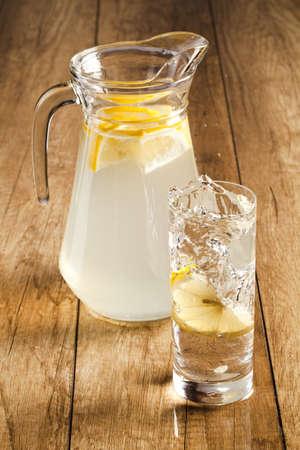 fresh tasty lemonade photo