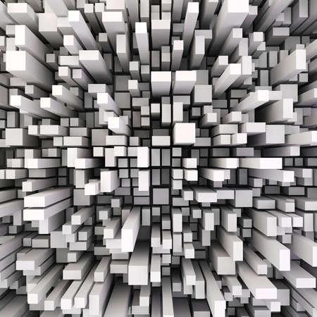 3d abstrakt hölzernen Hintergrund
