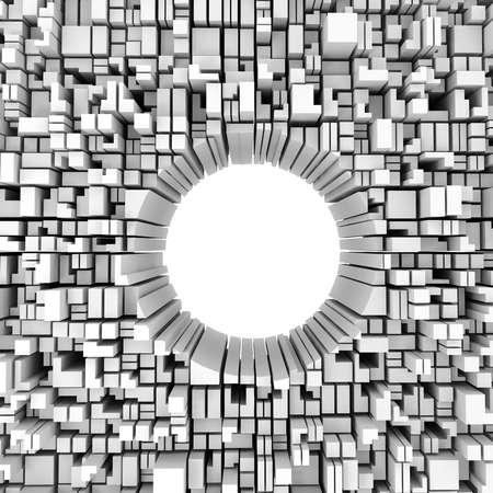3D 추상적 인 디자인 배경