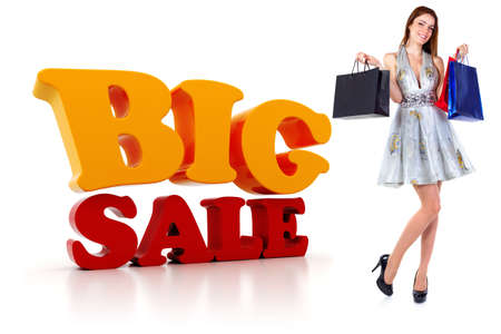 3d Sale text, on white background Stock Photo - 20639267