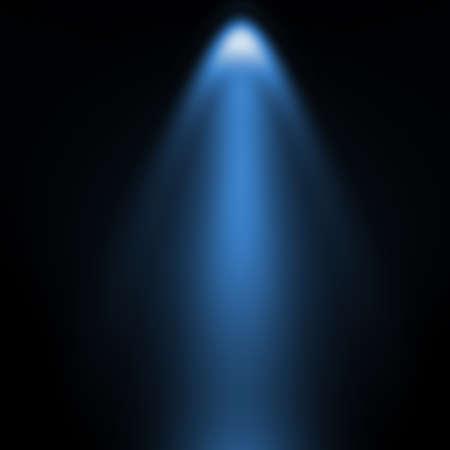 spot lights: 3d light shape on wall