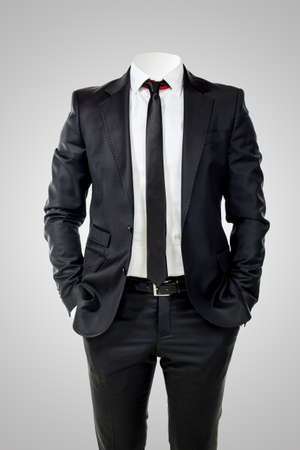 business man without head  Stock Photo - 22304102