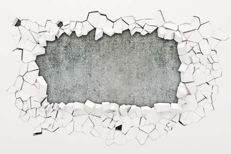 3d distruzione muro