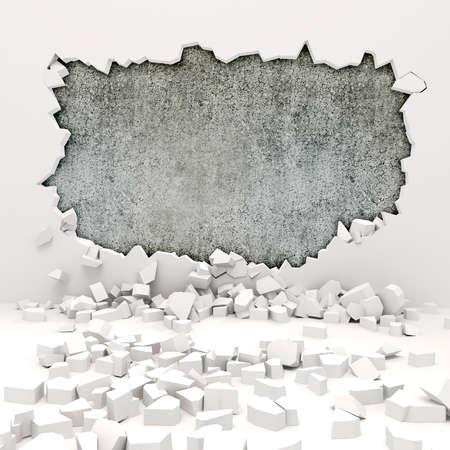 3D 벽 파괴