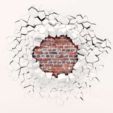 3d wall destruction