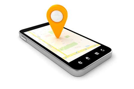 3d viaggi e pianificazione navigazione, concetto
