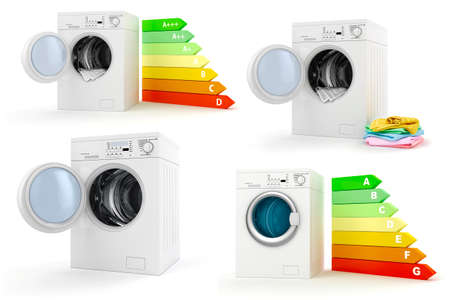 3d washing machine - energy efficiency photo