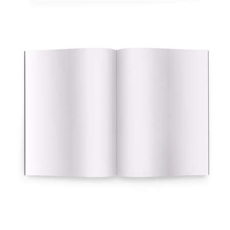 3d book with blank covers photo