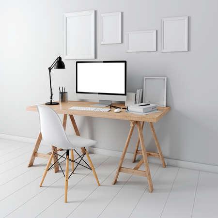 3D 현대 컴퓨터 직장