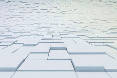abstract cubes: 3d abstract cubes background