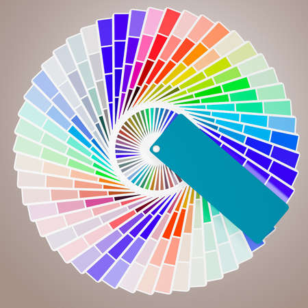3d Pantone color palette guides