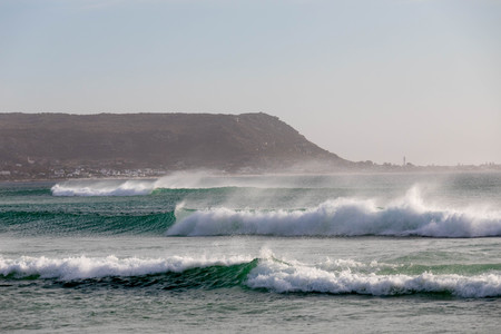 High Waves on Cape Towns Beach