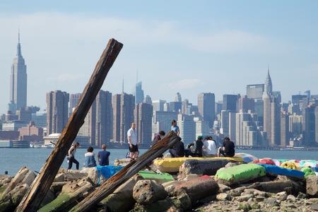 New York Skyline Brooklyn