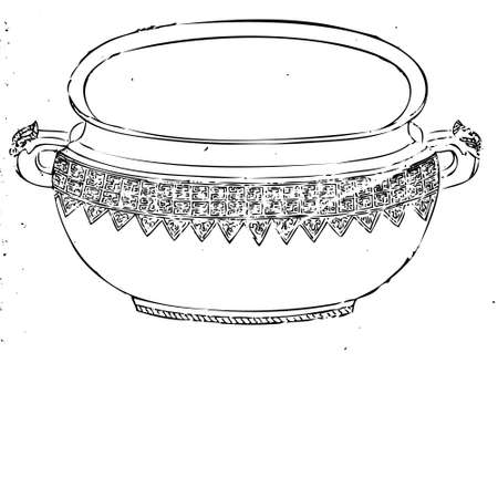earthenware: Ancient, Bowl Illustration