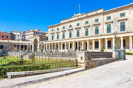The Museum of Asian Art of Corfu in Corfu Town, Greece Editoriali