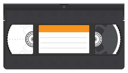 Blank Video Cassette Stok Fotoğraf