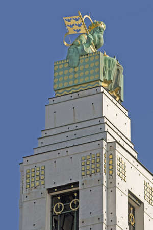 wagner: Otto Wagner Church, Vienna