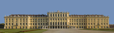sissy: Schoenbrunn Castle, Vienna Stock Photo