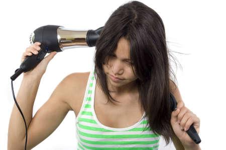 Hair dryer Stock Photo - 2641530
