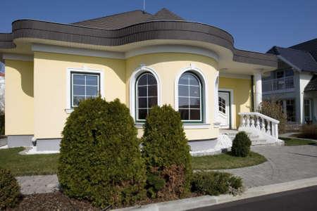 prefabricated building: stylish house