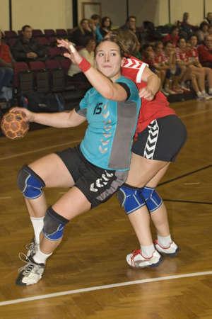 stamina: Handball Stock Photo