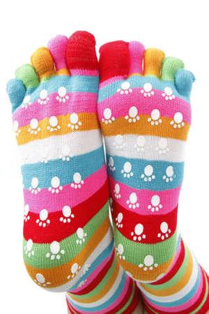 garish: funny socks