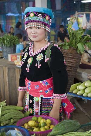 culturally: hmong woman