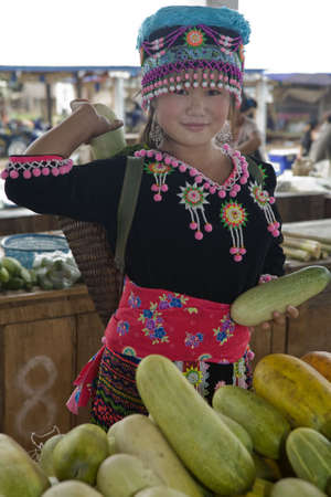 hmong woman photo