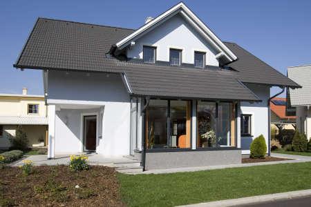 prefabricated: stylish house