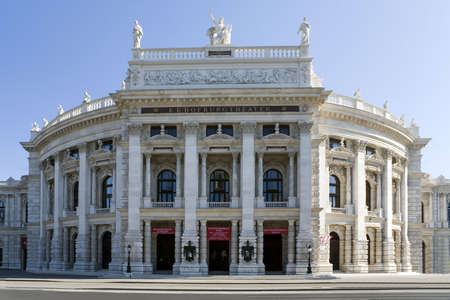 historically: Burgtheater in Vienna, is a historically interesting theater building
