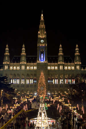 Christmas Market Vienna photo