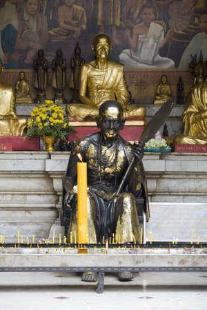ecclesiastical: Buddhist statue in Doi Suthep temple, Thailand
