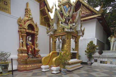 doi: Doi Suthep, temple in Chiang Mai, Thailand