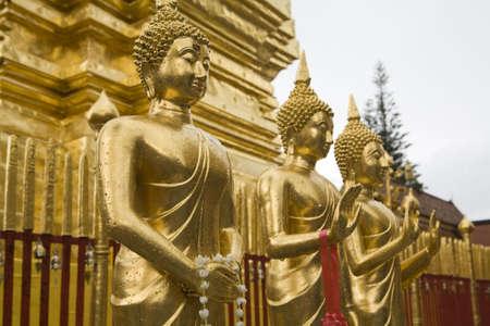 ecclesiastical: Doi Suthep, temple in Chiang Mai, Thailand
