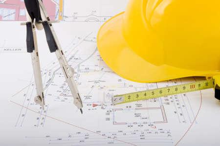 Plan voor het bouwen van een huis bouwen
