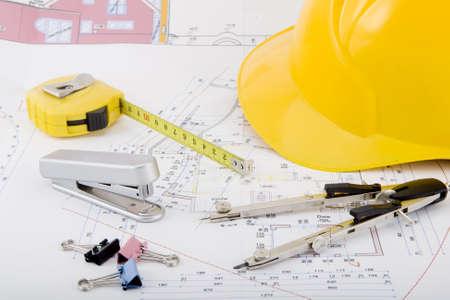Plan voor de bouw van een huis bouwen