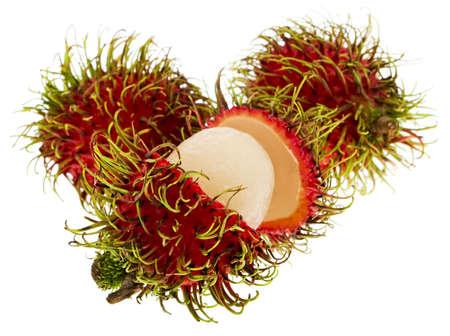 plants species: Rambutan, exotic fruit