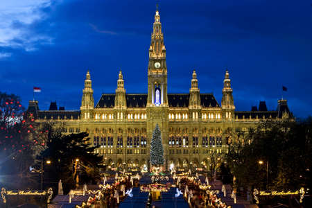Viennese Christmas fair 免版税图像