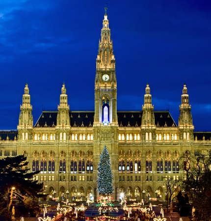Viennese Christmas fair photo