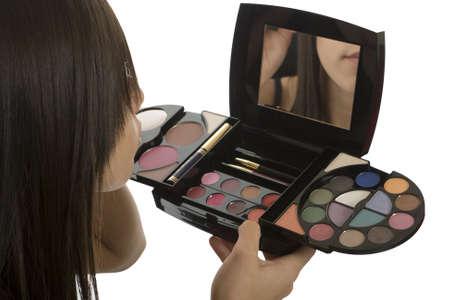 Teenager Make up, Kosmetik scheinen attraktiver