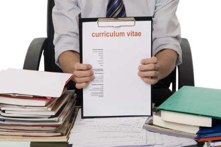 cv: CV para la aplicaci�n de empleo